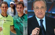 Nadal có thể đấu Federer tại Bernabeu để lập kỷ lục Guinness