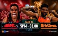 VBA 2019 Game 37: Thang Long Warriors vs Danang Dragons - Chỉ 1 mục tiêu