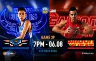 VBA 2019 Game 39: Hanoi Buffaloes vs Saigon Heat - Trận đấu quyết định