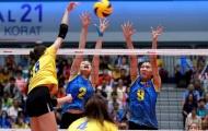 Việt Nam thua Thái Lan tại Giải bóng chuyền ASEAN Grand Prix