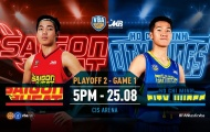 VBA 2019 Playoff 2 Game 1: Saigon Heat vs Hochiminh City Wings by Jetstar - Cho lần đầu tiên