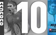 Nối dài kỷ lục, Roger Federer lần thứ 10 vô địch Basel Open
