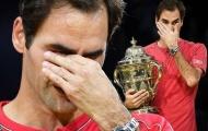 Hé lộ nguyên nhân khiến Federer bật khóc ở chung kết Basel Open