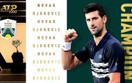 Thắng nhẹ Shapovalov, Novak Djokovic lần thứ 5 vô địch Paris Masters
