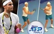 Nadal tung video tập luyện trước ATP Finals, CĐV vẫn tràn nỗi lo