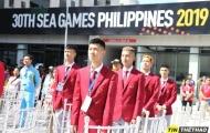 Đoàn Thể thao Việt Nam tiến hành lễ thượng cờ tại SEA Games 30