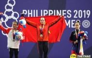 Đội cử tạ Việt Nam có HC vàng đầu tiên