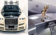 Cú vàng nạm kim cương đá cặp cực phẩm Rolls-Royce Phantom của Drake