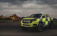 Ford Ranger Raptor 'gia nhập' lực lượng cảnh sát Anh, tội phạm phải dè chừng