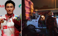 Sốc: Momota suýt bỏ mạng vì tai nạn giao thông