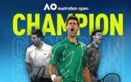 Ngược dòng trước Dominic Thiem, Novak Djokovic lần thứ 8 vô địch Australian Open