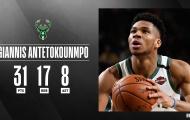 Kết quả NBA 23/2: Clippers nếm mùi chiến bại, Bucks tiếp tục 'bá chủ' miền Đông