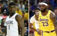 Lịch thi đấu NBA 26/2: Thách thức chờ 'Á thần', 'King James' chạm mặt 'tân quái vật'