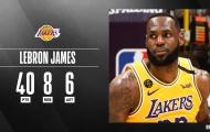 Kết quả NBA 26/2: 'King James dằn mặt quái vật', 'Khủng long đỏ cam bái Bầy nai'