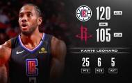 Kết quả NBA 6/3: 'Tên lửa' Rockets lệch mục tiêu, LA Clippers ca khúc khải hoàn