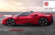 SF90 Stradale, Ferrari Roma và F8 Tributo đều vinh danh Giải thưởng Red Dot
