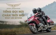 Honda Gold Wing Phiên bản mới chính tức chào sân thị trường Việt với giá 1,2 tỷ đồng