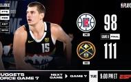 Kết quả NBA 14/9: 'Gã hề bùng cháy', Nuggets đưa Clippers đến Game 7