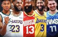ĐHTB NBA 2020: Lakers 'chiếm sóng', đậm nét Châu Âu