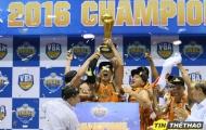 Danang Dragons đánh bại HCMC Wings để vô địch VBA 2016