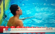 Kình ngư 15 tuổi phá kỷ lục SEA Games
