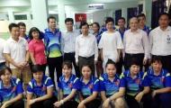 Bộ trưởng Nguyễn Ngọc Thiện tiếp lửa VĐV trước ngày dự SEA Games