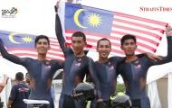 Cạn lời với chủ nhà Malaysia, đi tắt để giành vàng xe đạp