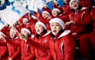 Đoàn cổ vũ của Triều Tiên gây ấn tượng mạnh tại Hàn Quốc