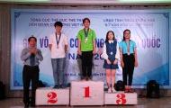 Kết thúc Giải vô địch cờ tướng trẻ toàn quốc 2018: TP.HCM giành hơn nửa số huy chương