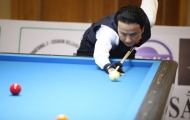 Giải Billiards Carom 3 băng quốc tế Bình Dương lần VII - 2018: Xác định các cặp đấu tứ kết