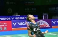 Hạ Momota, Ginting lần đầu vô địch giải cầu lông Trung Quốc mở rộng