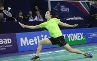 Vợ chồng Tiến Minh thua ngược tại giải cầu lông Đài Loan