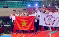 Người đẹp Châu Tuyết Vân và đội taekwondo Việt Nam không thể vượt qua chủ nhà