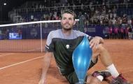 Hoàn thành cổ tích trên sân nhà, Londero có lần đầu tiên ở một giải ATP