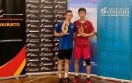 Tiến Minh vô địch 2 giải cầu lông liên tiếp tại New Zealand