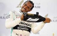 Lật đổ Ferrarri, Hamilton xuất sắc về nhất ở Bahrain