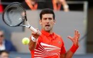 Thắng dễ Shapovalov, Djokovic theo chân Nadal và Federer vào vòng 3 Rome Masters