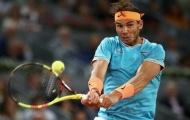 Rafael Nadal hủy diệt đối thủ trong ngày ra quân ở Rome Masters