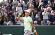 Hạ đối thủ xếp trên gần 100 bậc, tay vợt gốc Việt xuất sắc vào vòng 2 Roland Garros