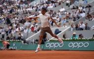 Ngày 6 Roland Garros: Federer vất vả với loạt tie-break, Nadal thua set đầu tiên