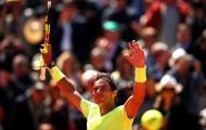 Rafael Nadal vùi dập Roger Federer ở bán kết Roland Garros