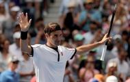 Hủy diệt David Goffin, Roger Federer thẳng tiến tứ kết US Open