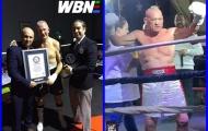 Kỷ lục Guinness: 70 tuổi KO đối thủ bị tố gian lận, lố bịch