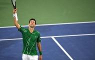 Novak Djokovic thẳng tiến vào tứ kết Dubai Championships