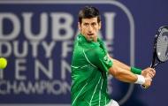 Nối dài chuỗi thắng lên con số 21, Djokovic lần thứ 5 vô địch Dubai Championships