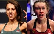 Gương mặt nữ võ sĩ UFC bị biến dạng