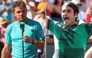 Indian Wells bị hủy, Tennis TV nhắc lại vụ Wawrinka gọi Federer là 'Cái lỗ đ*'