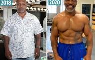 Mike Tyson tăng cơ bắp nhờ liệu pháp đặc biệt