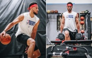 Sao bóng rổ Australia gây chú ý khi khoe cơ bắp cuồn cuộn