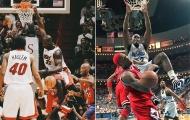 VĐV bóng rổ nặng 147 kg và những bức ảnh thể hiện sức mạnh